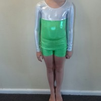green leotard