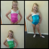 coloured leotards